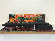 MARKLIN 8385 LOCOMOTIVE DANS VAPEUR avec TENDER 003 160-9 DB H0