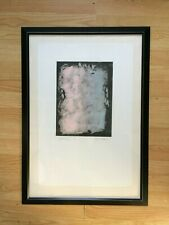 "Gloria Gaddis Monotype Silk Screen Print ""Journey""  1/1"