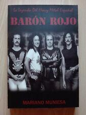 BARÓN ROJO – ''LA LEYENDA DEL HEAVY METAL ESPAÑOL''- BOOK BY MARIANO MUNIESA.