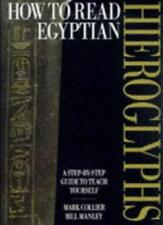 How to Read Egyptian Hieroglyphs: A step-by-step guide to teach yourself,Mark C