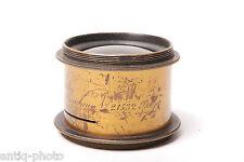 Vintage brass lens Steinheil in München #21532 good condition.