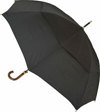 Clifton Storm King Classic 100/120 Auto Open Long Walking Umbrella Black