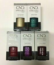 Nuevo CND Shellac Esmalte gel de marca 7.3ml cada sombra elegir entrega UK LIBRE