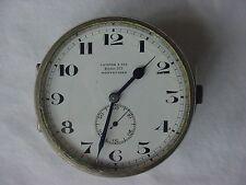 Campos & Cia 8 Day Antique Auto Dash Clock from Montevideo, Uruguay