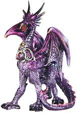 """TERROR   Purple Dragon  Statue figurine  H5.88"""""""