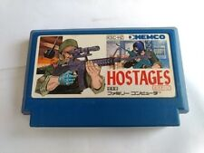 Hostages for Nintendo Famicom Nes Game Cartridge only/tested -A-