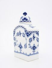 Unusual Tea Caddy #679 - Blue Fluted - Royal Copenhagen - 1:st Quality