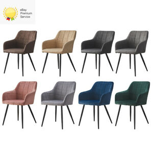 2/4er set Kunstleder Stühle Esszimmerstühle Küchenstühle Sessel Innenministerium