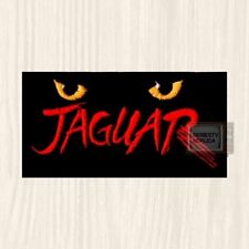 Atari Jaguar Logo Embroidered Patch Vintage Computer Retro Video Game Console