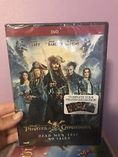 Pirates of the Caribbean: Dead Men Tell No Tales. DVD Brand new!!