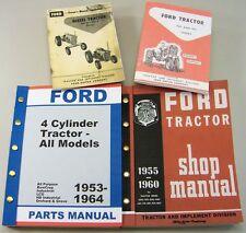 Ford 981 D Diesel Tractor Owner Operators Parts Repair Service Shop Manuals 981D