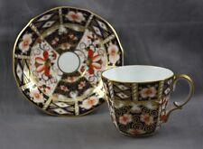 "Royal Crown Derby Traditional Imari  2 1/4"" Flat Demitasse Cup & Saucer  2451"