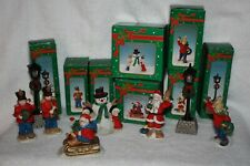 """Russ """"An Old Fashioned Christmas"""" Porcelain Collection Village Pieces"""