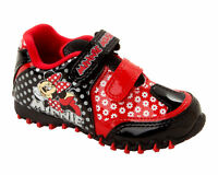 Official Disney Minnie Mouse Red & Black Trainer Infant Size 6,7,8,9,10,11 & 12