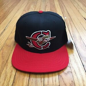 Vtg NOS New Era Hat Capital City Bombers Cap SnapBack Med / Large 90s Red Sox