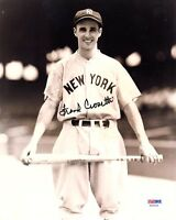 FRANK CROSETTI SIGNED AUTOGRAPHED 8x10 PHOTO NEW YORK YANKEES PSA/DNA