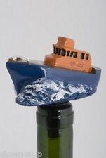Life Boat Wine Saver / Bottle Stopper / Novelty Cake Decoration + Gift Box