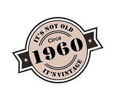 Non è vecchio intorno al 1960 ROSETTA Emblema PER CASCO DA MOTO AUTO ADESIVO VINILE
