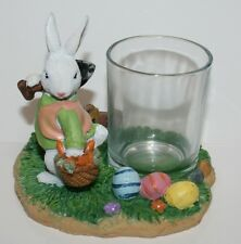 YANKEE CANDLE Votive HOLDER ~ Easter BUNNY ~ Very Cute