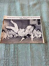 m9-8 ephemera 1966 london transport picture judo Michael Smithers bill fullam