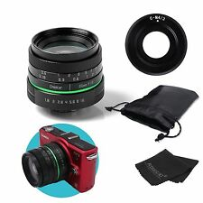 New APSC 25mm F1.8 Manual Wide Angle Lens for Olympus Panasonic M43 EP3 OMD EM5