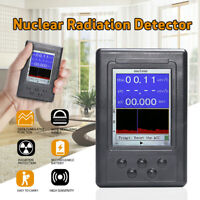 Upgraded Geiger Counter Nuclear Radiation Detector β Y X-ray Monitor Meter Test