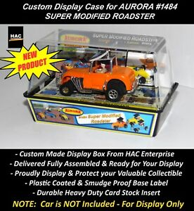 Custom Display Case : AURORA TJet #1484 SUPER MODIFIED ROADSTER