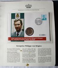schöner Numisbrief Belgien mit 20 Franc Münze 1994 (117854)