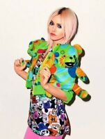 Adidas x Jeremy Scott Panda Teddy Woman T-shirt Tee Colourful Gay Top Colourful