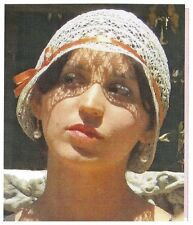 Ladies' 1920s Style Bobbin Lace Cloche Sewing Pattern by Lynn McMasters #59