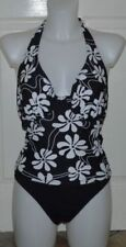 Resort Elastane Swimwear Tankini Sets for Women