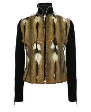 TOM FORD for GUCCI NEW HAMSTER FUR WOOL SILK CASHMERE CARDIGAN SWEATER JACKET  S