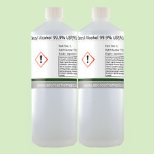 Benzyl Alcohol 99.9% USP,Ph Eur,BP,ACS 2 x 1 Litre (2L)