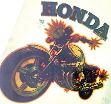 Original Honda Motorcycle Iron On Transfer LAST ONE