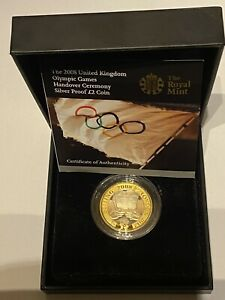 2008 £2 Silver Proof ' Olympic Games Handover Ceremony To London 'Two Pound Coin
