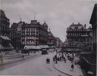 Bruxelles Belgio Stampa Fotomeccanica Photoglyptie Ca 1890