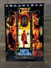 HOTEL ARTEMIS signed 12X18 photo ~ JODIE FOSTER ~ BOUTELLA ~ BROWN~ DAY ~ HENRY