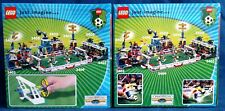 LEGO 3412 3413 Soccer Goal Keeper & Point Shooting new in box