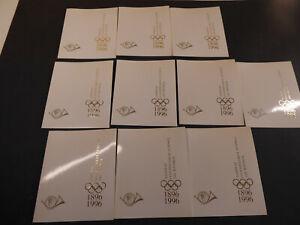 "Griechenland 1996, Sonderblockserie ""Olympiade"", 15 Garnituren, (ME 630,-)"