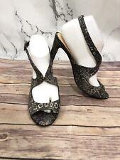 Kate Spade New York Snake Skin slingbacks Shoes sandals Heels 9B $298