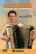 Learn To Play The Piano Accordion Styles Techniques DVD CAJUN COUNTRY ROCK TUTOR
