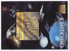 CARTE COLLECTION : SKYBOX MASTER SERIES CHECKLIST B