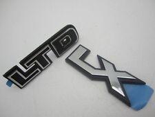 Ford LTD LX NOS Trunk Emblems 1984
