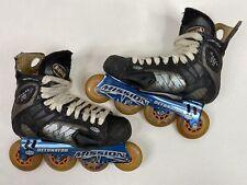 Mission Proto Vi Inline Hockey Roller Skates Sz 6D US Men Shoe 6/ US Women 7.5