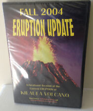 New Sealed Hawaii Volcanoes Fall 2004 Eruption Update DVD Science Kilauea