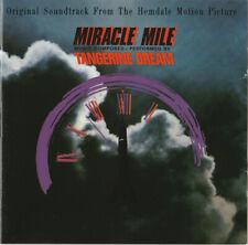 CD MIRACLE MILE TANGERINE DREAM NUOVO ORIGINALE NEW ORIGINAL