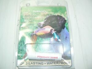 Dokken's PHEASANT Upland Bird Hunting Dog/Puppy Training Scent/Smell Wax - 2D