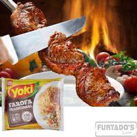 2 Yoki - Seasoned Cassava Flour - 17.6 Oz | Farofa De Mandioca Pronta Temperada