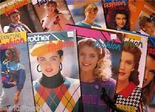 Brother Knitting Machine Patterns Fashion Books on Cd