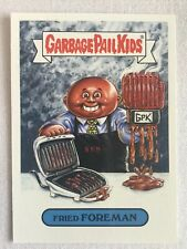 Garbage Pail Kids 2019 Topps Sticker We Hate The '90s Music Fried Foreman 8b